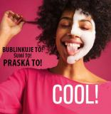 magic bubble mask bublinkuje a praská
