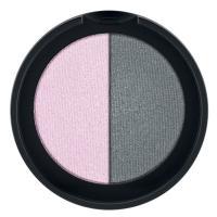 Minerální oční stíny Duo (Rose & Grey)